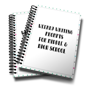 In this 52-week packet, students will work through each writing style once a month using the same topic/theme for each assignment. It is sort of like a round-robin style of teaching and I think it is a simple way to make sure one style is not left behind. :: www.thriftyhomeschoolers.com