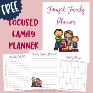 Focused Family Planner