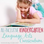 An All-Inclusive Kindergarten Language Arts Curriculum