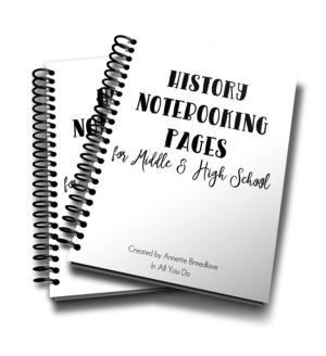 History Notebooking Pages