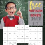 Printable Multiplication Flashcards (1-12)