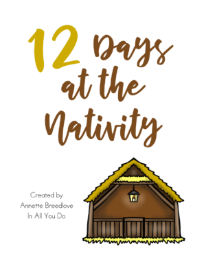 12 Days to the Nativity Study