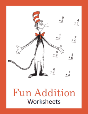 Seuss Inspired Addition Math Pack