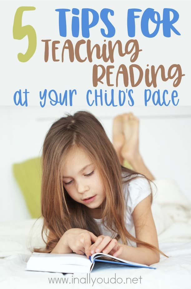Every child learns to read at their own pace and in their own time. However, here are some tips and tricks you can use to teach them most effectively! These are tried and true with our own kids! :: www.inallyoudo.net