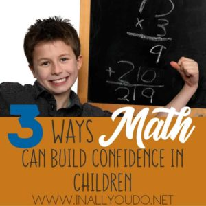 After seeing how much our second child struggled with math, I was determined to find a program that fit. But we found one that did even more! It gave him his confidence back. :: www.inallyoudo.net