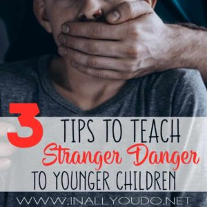It's important to teach stranger danger to young kids so that they are open to being polite to strangers, but guarded enough to know when something isn't quite right with a stranger. Check out these tips! :: www.inallyoudo.net