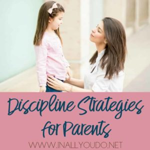 Do you wish you could pause time? That you could keep your children young and obedient? While parenting may become harder as children age, sticking to some discipline strategies can help you navigate the ups and downs so you can enjoy the journey. :: www.inallyoudo.net