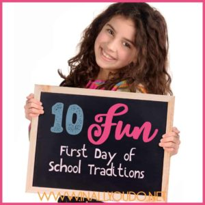 The first day of school is always a momentous occasion. Make it even more memorable with these fun traditions! :: www.inallyoudo.net