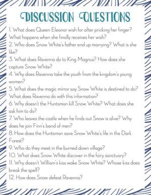 Snow White and the Huntsman Movie Study