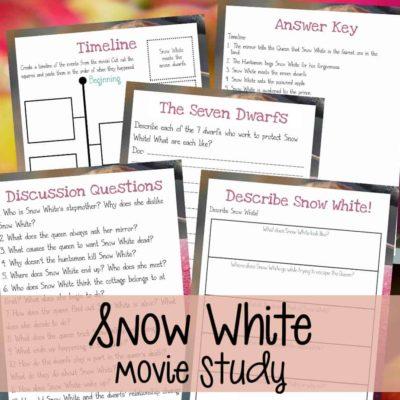 Snow White Movie Study