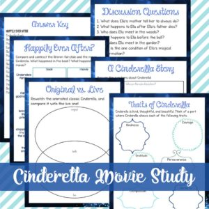 Cinderella Movie Study