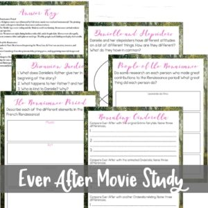 Ever After Movie Study