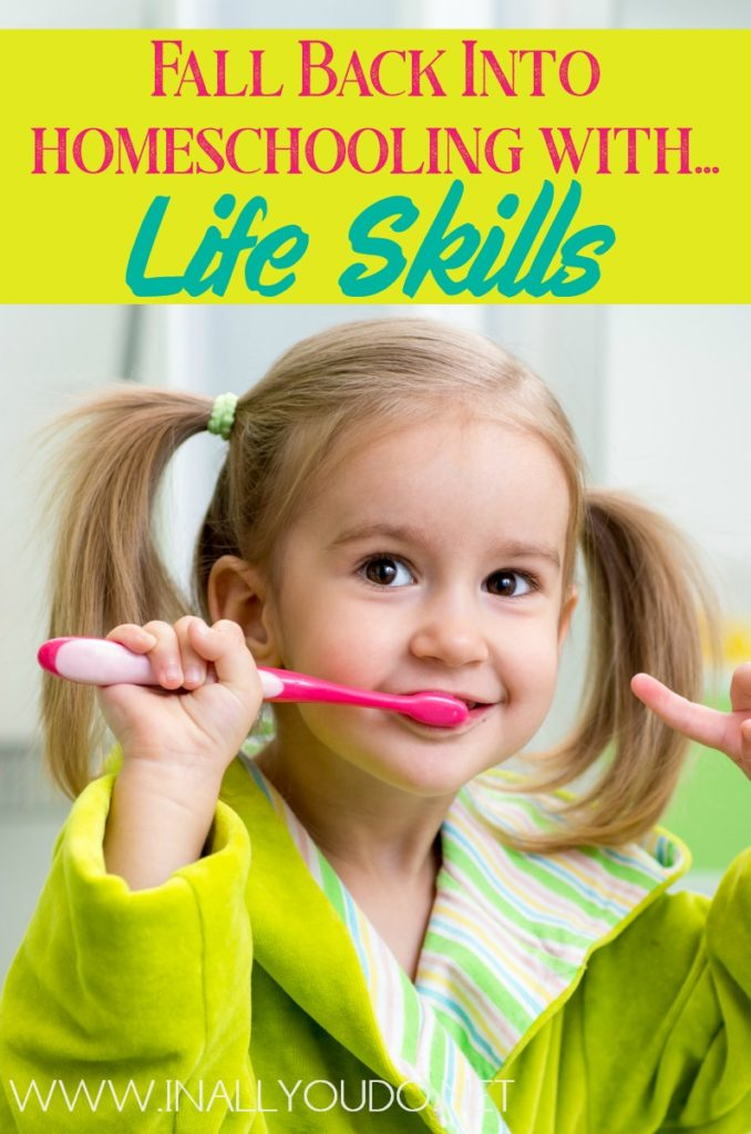 Teaching our children life skills is super important. Here are a few ways that you can begin teaching life skills in your homeschool. #lifeskills #skilltrekker #skilltrek #homeschoolers #homeschooling