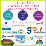 Fall Back into Homeschooling October Event {$1860+ Giveaways – 7 Winners}