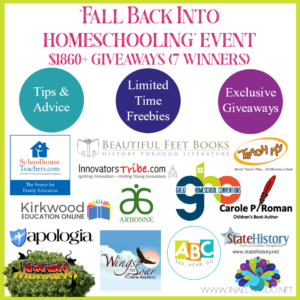 If you're in a slump this fall, don't miss our October series. You'll get tips & advice on staying focused as the weather turns cooler. Plus Limited Time Freebies and Exclusive Giveaways! Be sure to follow along so you don't miss anything! #fall #homeschooling #homeschoolers #iaydhomeschoolers