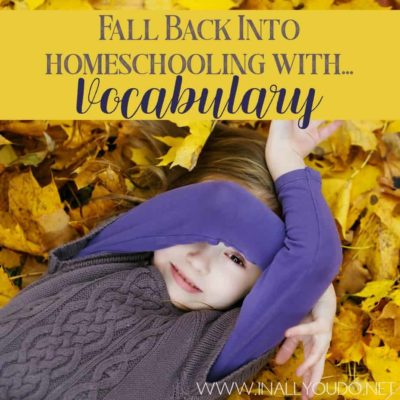 Teaching vocabulary can be an interesting task. Here is a way to teach vocabulary and have fun at the same time.