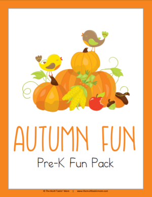 Autumn PreK Fun Pack