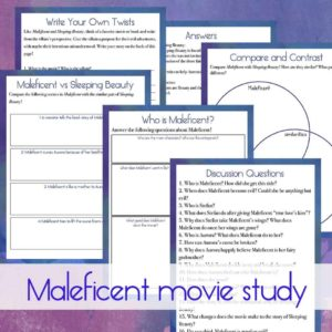 Maleficent Movie Study