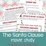 The Santa Clause Movie Study & Snack Ideas