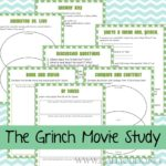 The Grinch Movie Study & Watch Party Ideas