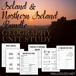 Ireland & N. Ireland Unit Study Combo