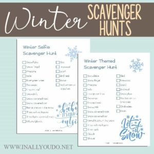 Winter Scavenger Hunts