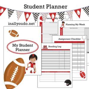 Elementary Student Planner – Boy