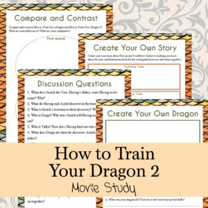 How to Train Your Dragons 2 – Movie Study