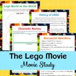 """LEGO Movie"" Themed Movie Study"