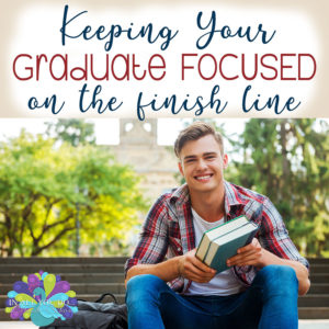 I remember my senior year. It was full of fun and excitement, which made it difficult to stay focused at times. Learn how one experienced homeschool mom tells us how she kept her son focused not just his senior year, but all four years of high school until graduation. #homeschooling #homeschoolers #graduation #iaydcommunity