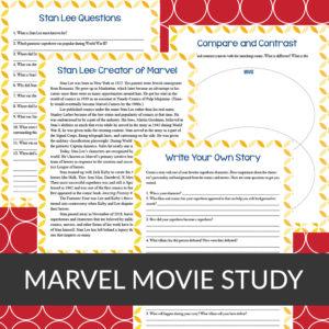 Marvel Movie Study