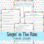Singing in the Rain Movie Study