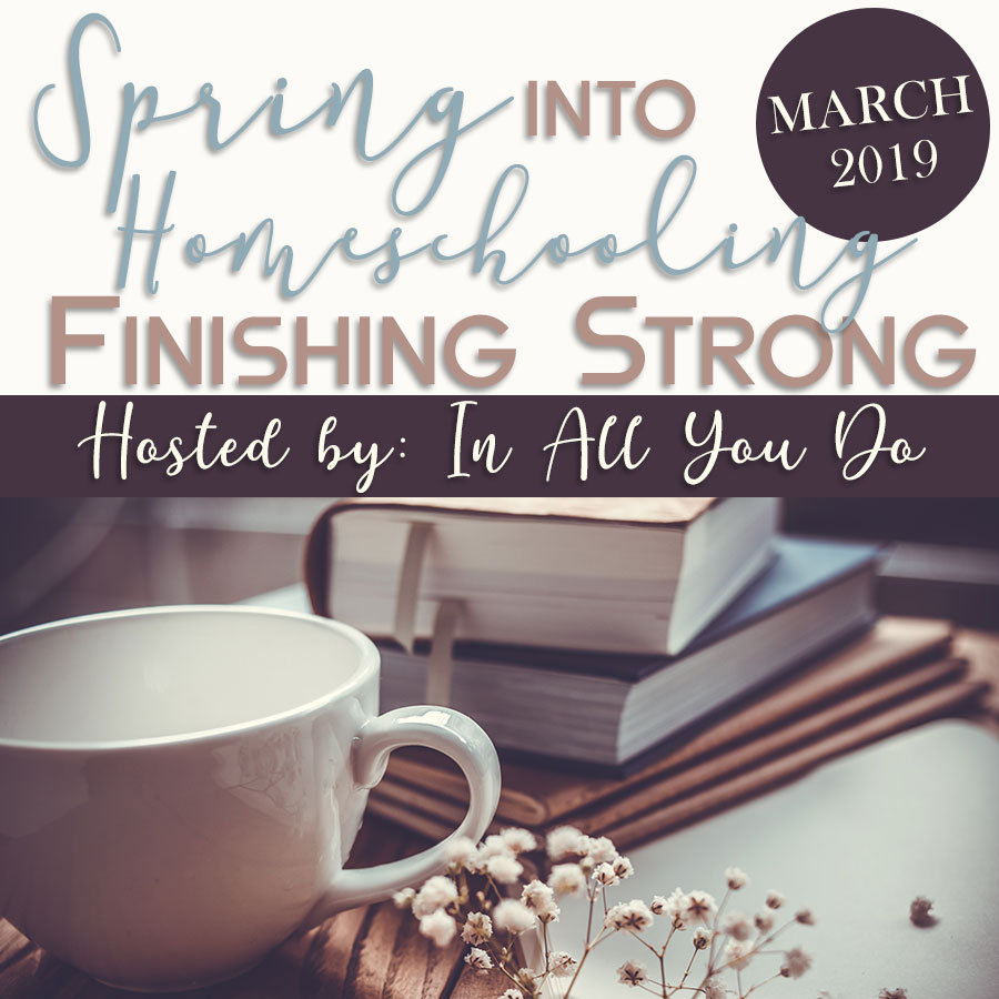 We all have hard days. But there's something more difficult about keeping the focus during those nice, cool and sunshiny spring days. Get encouragement, tips, ideas and more in this series for homeschool moms.