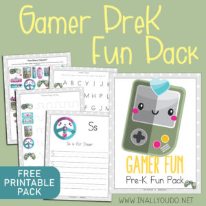 Gamer PreK Fun Pack