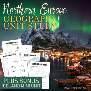 Northern Europe Geography Unit Study