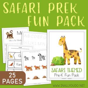 Safari PreK Fun Pack