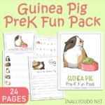 Guinea Pig PreK Fun Pack {24 page printable pack}