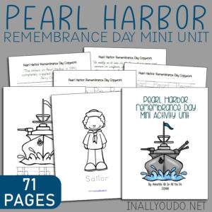 Pearl Harbor Remembrance Day Mini Unit