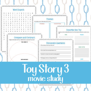 Toy Story 3 Movie Study Pack