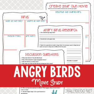 Angry Birds Movie Study