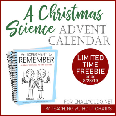 An Experiment to Remember a Christmas Science Advent Calendar