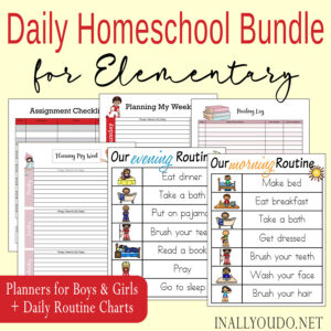 Daily Homeschool Bundle for Elementary