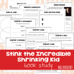 Book Study: Stink the Incredible Shrinking Kid