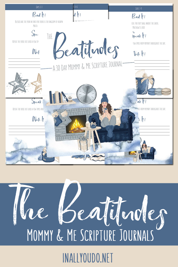 winter themed pages for study The Beatitudes
