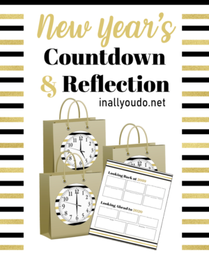 NYE Countdown & Reflection Pack