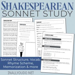 Shakespearean Sonnet Study