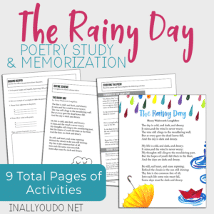 The Rainy Day Poetry Study & Memorization Pack