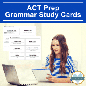ACT Grammar Study Cards