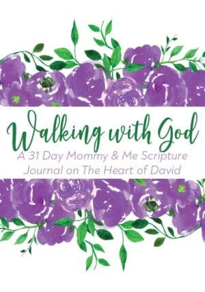 Walking with God Mommy & Me Scripture Journals